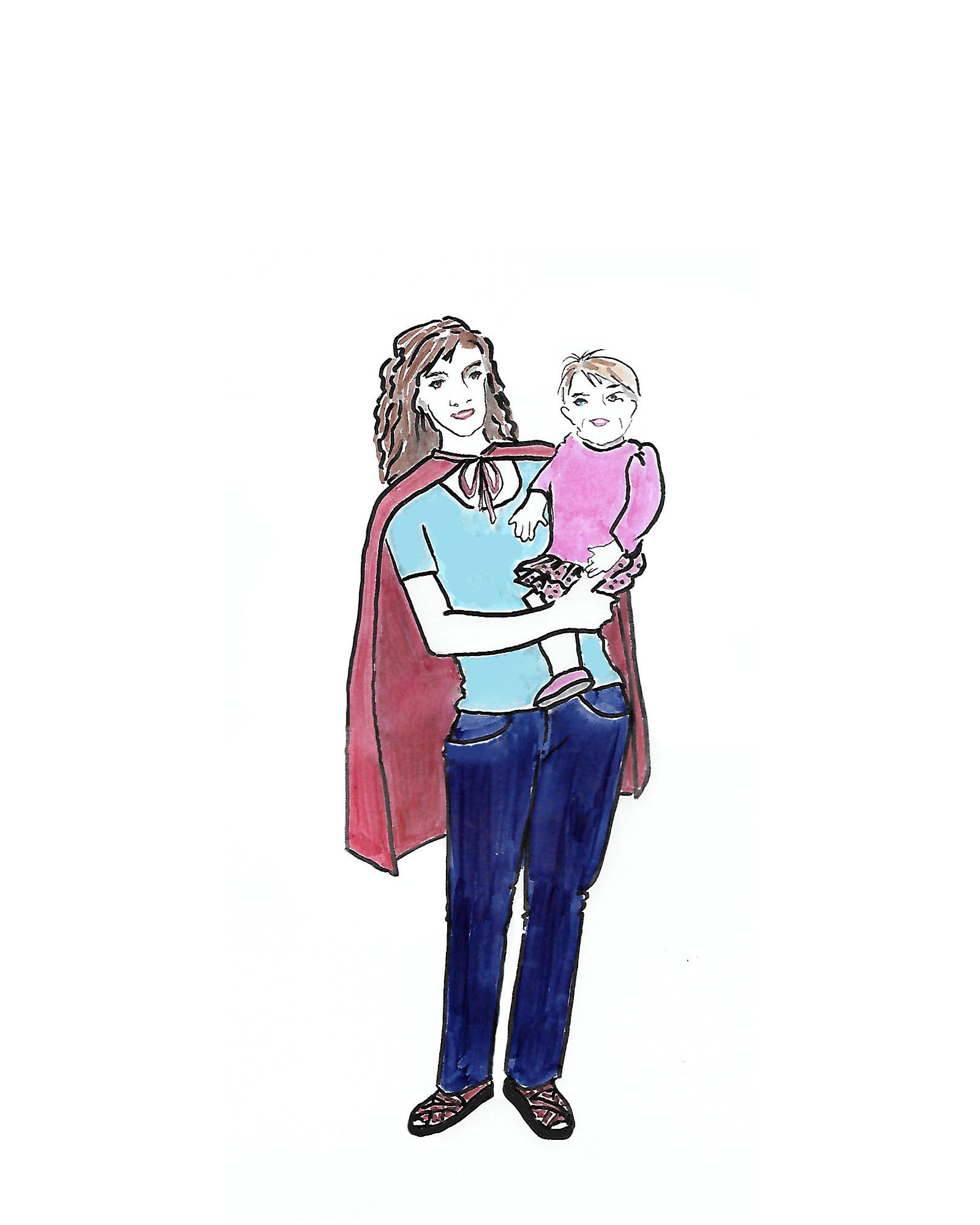 Should Supermom Wear a Cape?